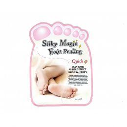 Calmia Silky Magic Foot Peeling [Quick Type] Экспресс пилинг носочки для идеального отшелушивания кожи ног