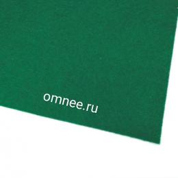 Фетр листовой мягкий 1,2 мм, 20х30 см, цв.: 678 зелёный