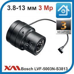 Bosch LVF-5003N-S3813. Объектив 1/2, C-mount, 3MP, варифокальный 3.8-13mm, F1.8 SR-iris.