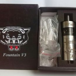 ДрипБак Fountain V3 RDTA 22 mm 5,0 ml (CLONE)