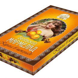 Мармелад в шоколаде Курага 260г.