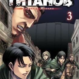 Атака Титанов Том 3