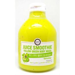 Happy Bath Пенка для душа желтые экстракты Juice Smoothie Yellow Body Wash