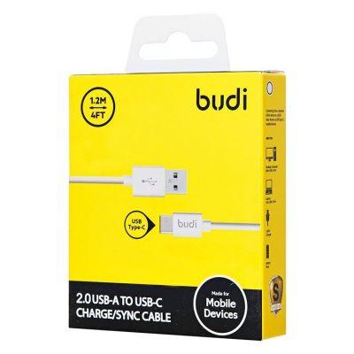 Кабель USB - Type-C budi M8J166TC (120 см) (black)