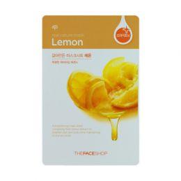 The face shop тканевая маска с экстрактом лимона