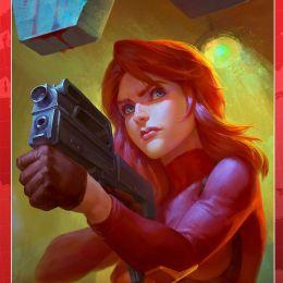 BUBBLE: Красная фурия том 3