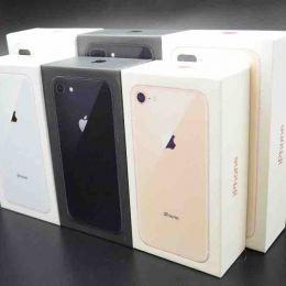 Коробка iPhone 8 Все цвета. Документация + скрепка