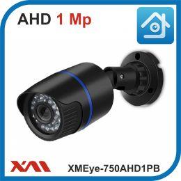 XMEye-750AHD1PB-2,8.(Пластик/Черная). 720P. 1Mpx. Камера видеонаблюдения.