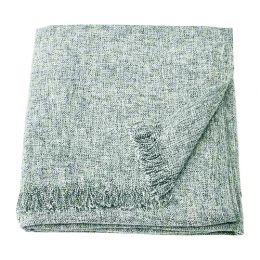 ИНГРУН Плед, серый, 130 х 170 см