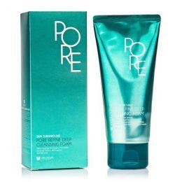 Mizon PORE REFINE DEEP CLEANSING FOAM Пенка для умывания кожи с расширенными порами 120мл