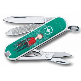 Нож-брелок Victorinox classic Ride your bike 0.6223 L1508