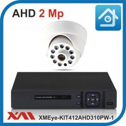 Комплект видеонаблюдения на 1 камеру XMEye-KIT412AHD310PW-1.