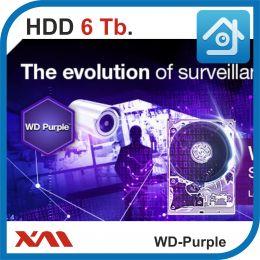HDD 6 Tb Purple. Western Digital. Жесткий диск 3.5.