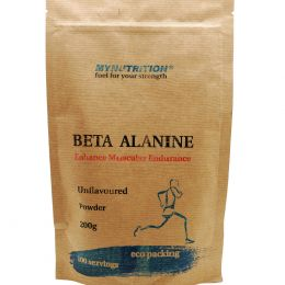 MYNUTRITION, Beta-alanine, дойпак 200гр.