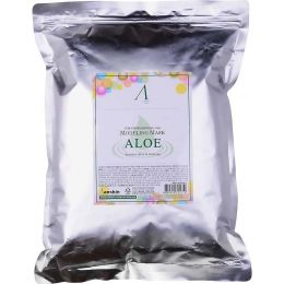 ANSKIN Original Modeling Mask - Aloe 1kg Маска альгинатная с экстрактом алоэ