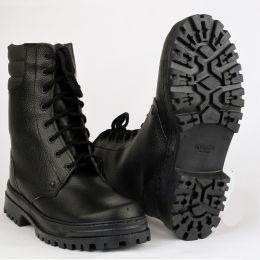 Ботинки ARMY хром (натур. мех)