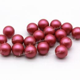Жемчуг Swarovski 5810 8 мм Mulberry Pink 1 шт