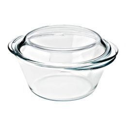 МУЛЛУС Форма/блюдо д/дхвк с кршк, прозрачное стекло