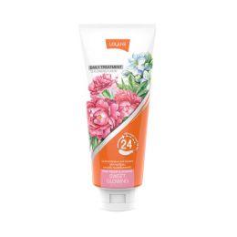 Цветочная маска для волос «Розовый пион и жасмин» 300 мл. Lolane daily treatment sweet glowing.