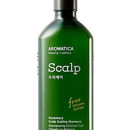 AROMATICA Rosemary Scalp Scaling Shampoo 400ml Отшелушивающий шампунь с розмарином