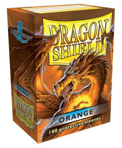 Протекторы Dragon Shield оранжевые