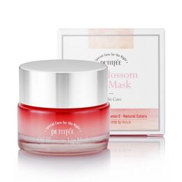 [PETITFEE] Маска для губ с маслом камелии Oil Blossom Lip mask (Camellia seed oil), 15 гр