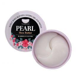 Petitfee Гидрогелевые патчи для кожи вокруг глаз с жемчугом и маслом ши Koelf Pearl & Shea Butter Eye Patch