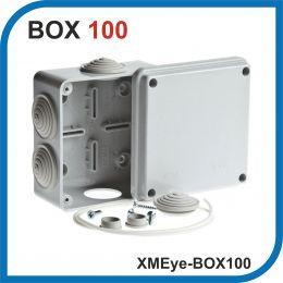 XMEye-BOX100. Универсальная монтажная коробка для камер видеонаблюденияя. 100х100х50 мм. IP 55.