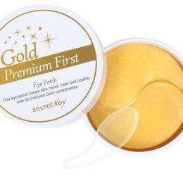 СК Gold Premium Патчи для глаз с золотом Gold Premium First Eye Patch 60шт