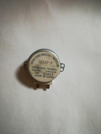 Двигатель поддона СВЧ 4W 5/6 об/мин (шток 16 мм)