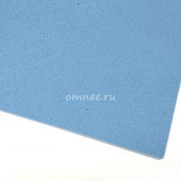 Фоамиран 1 мм, 20х30 см, цв.: голубой вк-046