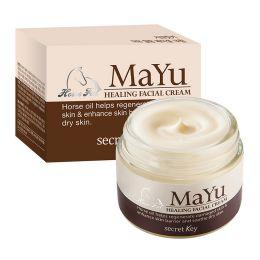 Secret Key Крем для лица с лошадиным жиром MAYU Healing Facial Cream