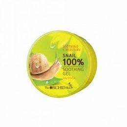 THE ORCHID SKIN Многофункциональный гель из 100% муцина (фермента слизи улитки) Snail Soothing Gel