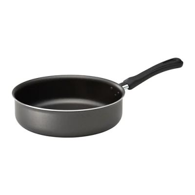 ХАВСКАРП Сотейник/сковорода, серый, 24 см