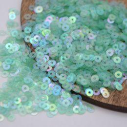Пайетки плоские 107 Irise Transparenti 3 мм 3 гр (Италия)