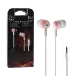Нааушники 9527 бело-розовый