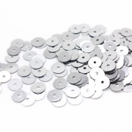 Пайетки плоские 1111 Metallizzati 5 мм 3 гр (Италия)