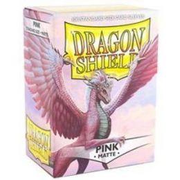 Протекторы Dragon Shield матовые розовые