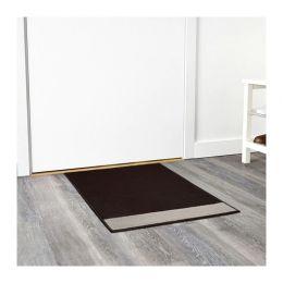 СТАВН Придверный коврик, бежевый/коричневый 60 х 80 см