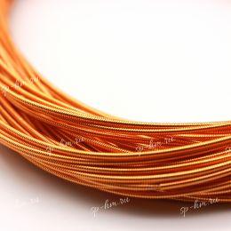 Канитель жесткая Orange 1,25 мм 5 гр (Индия)