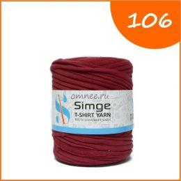 Трикотажная пряжа Simge, цв.: 106 винно- красный