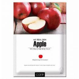 COS.W My Real Skin Apple Facial Mask Тканевая маска для лица с экстрактом яблока