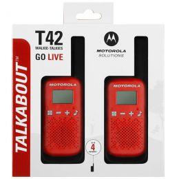 MOTOROLA T42 RED