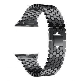 Ремешок - для ʺApple Watch 38/40 mmʺ металлический браслет (01) (black)