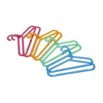БАГИС Плечики детские, разные цвета, 8 шт
