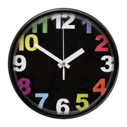 ЮККЕ Настенные часы, разноцветный, 25 см