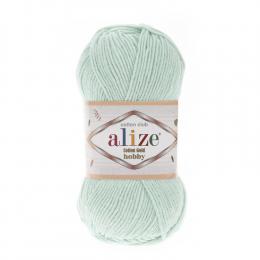 Alize Cotton Gold Hobby 522 (светлая аква), 55% хлопок, 45% акрил, 50 гр. 165 м.