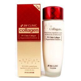 3W CLINIC Восстанавливающая эмульсия с коллагеном Collagen Regeneration Emulsion