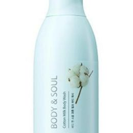 СМ Body & Soul Гель для душа молочный Body & Soul Cotton Milk Body Wash N2 300мл