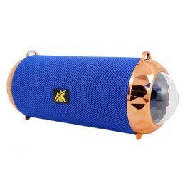 Портативная акустика BT, USB, SD, AUX, AK118 Disco, blue